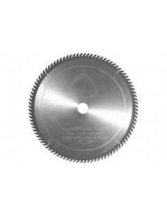 DISCO DE WIDIA PARA ALUMINIO. 250mm x 30mm. 80 DIENTES