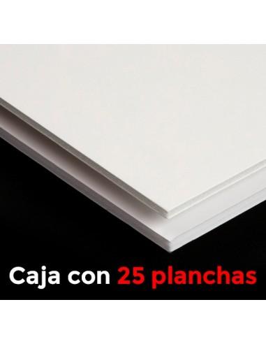 CARTÓN PLUMA MUSEUM BLANCA 3mm.  100 X 200  LIBRE DE ACIDOS(Plancha)