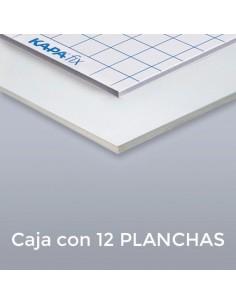 CARTÓN PLUMA KAPAFIX 10mm. 70 X 100 (Plancha) ADHESIVO