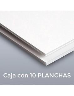 CARTÓN PLUMA FORTE BLANCO 10mm. 122 X 244 (Plancha)