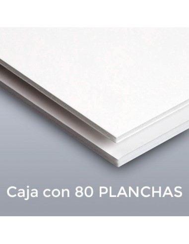 CARTÓN PLUMA SUPREM BLANCAS 3mm.  21 X 29.7  (Plancha)