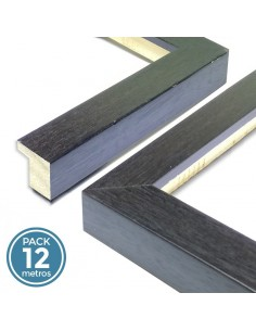 MOLDURA 17mm WENGUE (Pack 12 metros)