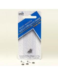 RECAMBIO RULINAS CABEZAL CORTE CRISTAL LOGAN (3 uds.)