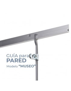 """GUIA PARED modelo """"MUSEO"""" PARA COLGAR CUADROS_MOLDIBER"""