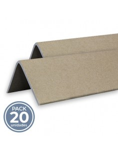 CANTONERA KRAFT PROTECCION (35 x 35 x 2.5 x 2000mm). Pack 20 uds.