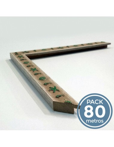 RELIEVES MARINOS BLANCO Y ROSA (20 mm  Pack 80 m )