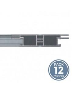 Moldura aluminio. Perfil 45 (Packs 12 mtrs)