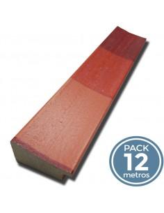 MOLD. BANDAS TRICOLOR ROJO ( 40mm Pack 12 m)