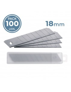 Cuchillas 18mm para cutter ( Pack 100 uds. )