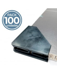 CANTONERA PVC EXTENSIBLE 10-15mm. TRASLUCIDA (100 uds.)