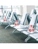 CONOS para marcar asientos ( PACK de 10 uds. )