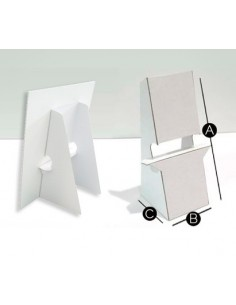 PEANA CARTON BLANCA. Para display. Montables