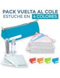 PACK HIGIÉNICO INFANTIL. Vuelta al cole (4 colores)