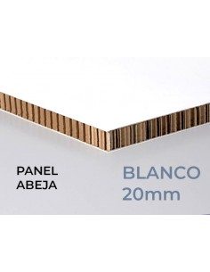PANEL NIDO DE ABEJA. Modelo PRINT. 20mm grosor. (Varias medidas)