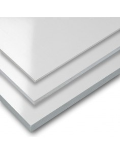 PVC ESPUMADO 1mm BLANCO MATE (3050 x 1220mm)