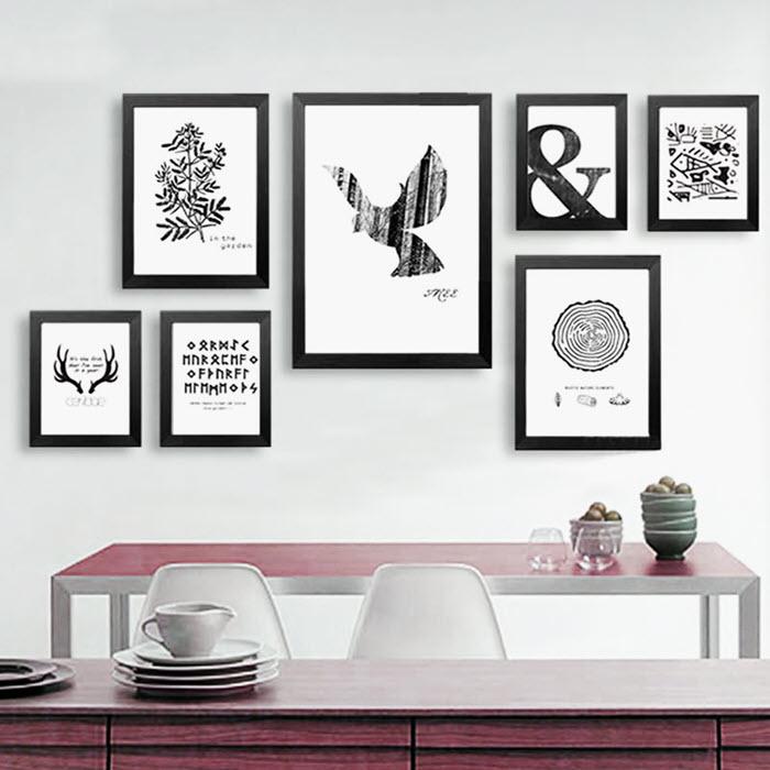 Decoración de cuadros decorativos